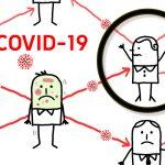 Illustration personne contaminée par COVID