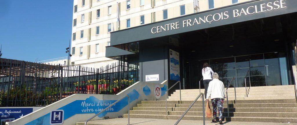 Entrée du Centre François Baclesse