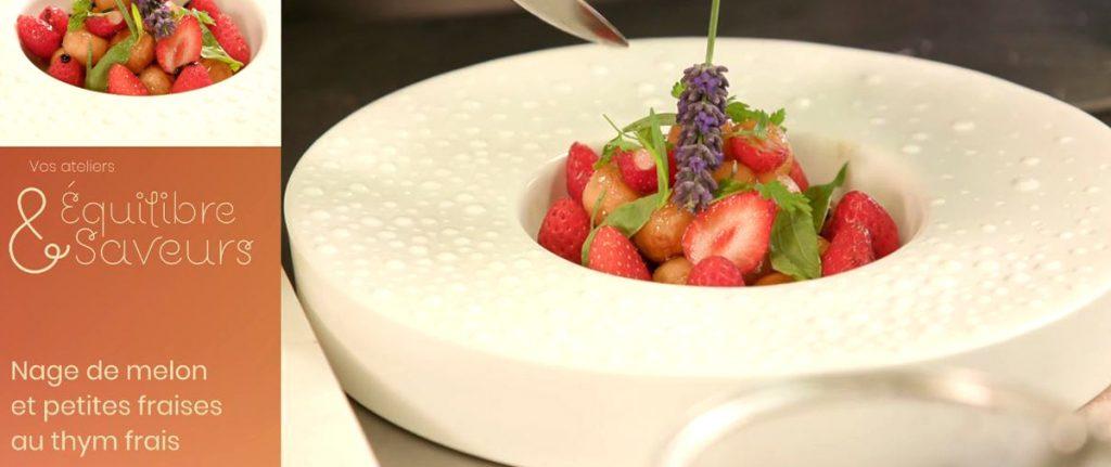 Atelier Equilibre & Saveurs : Photo de la recette au melon