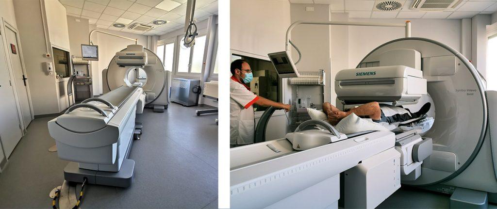 Médecine nucléaire : Gamma caméra INTEVO