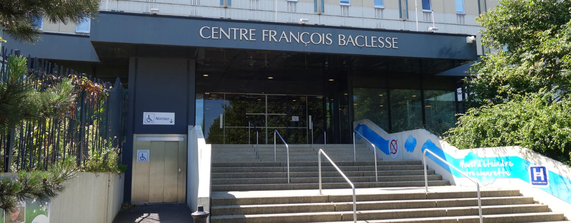 Rubriques Centre Francois Baclesse