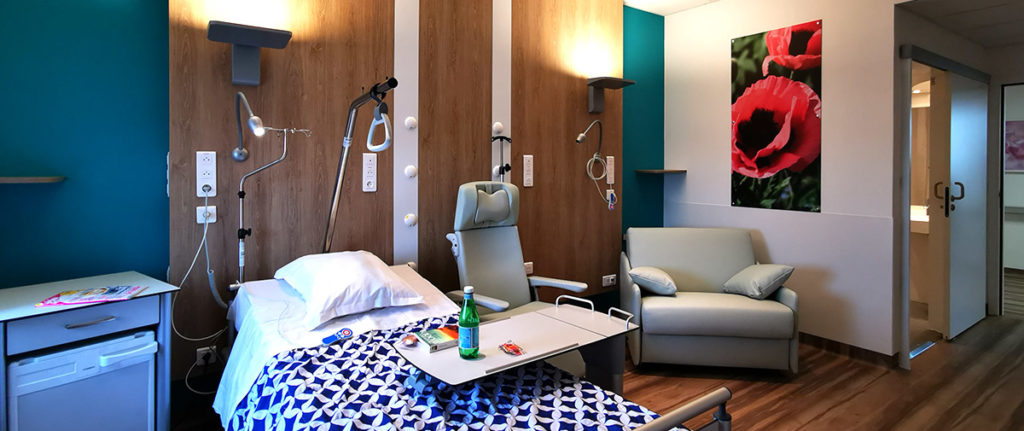 Des services d'hospitalisation modernisés