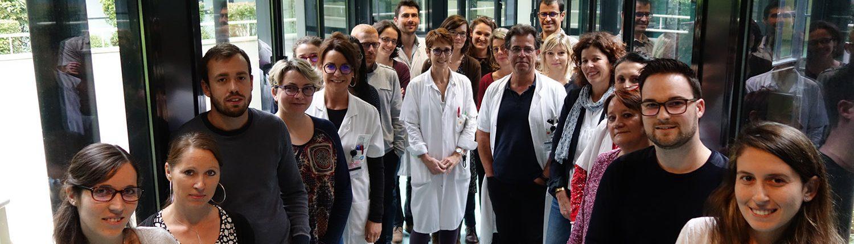 L'équipe de la Recherche clinique