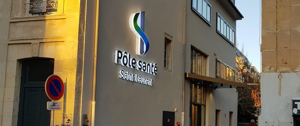 Bâtiment du Pôle santé Saint-Laurent