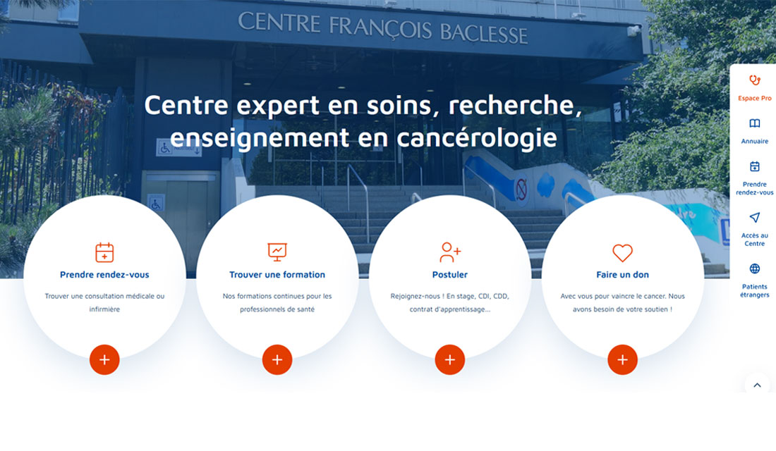 Notre nouveau site internet www.baclesse.fr