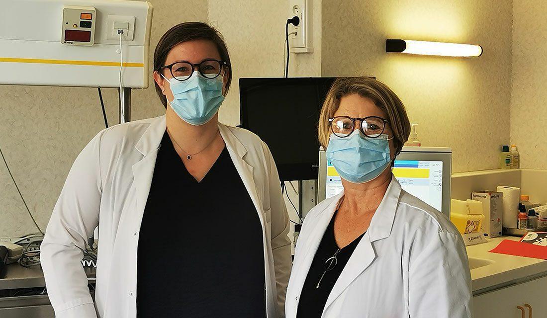 Dr Marion Lafosse et Pryssile Marazzi