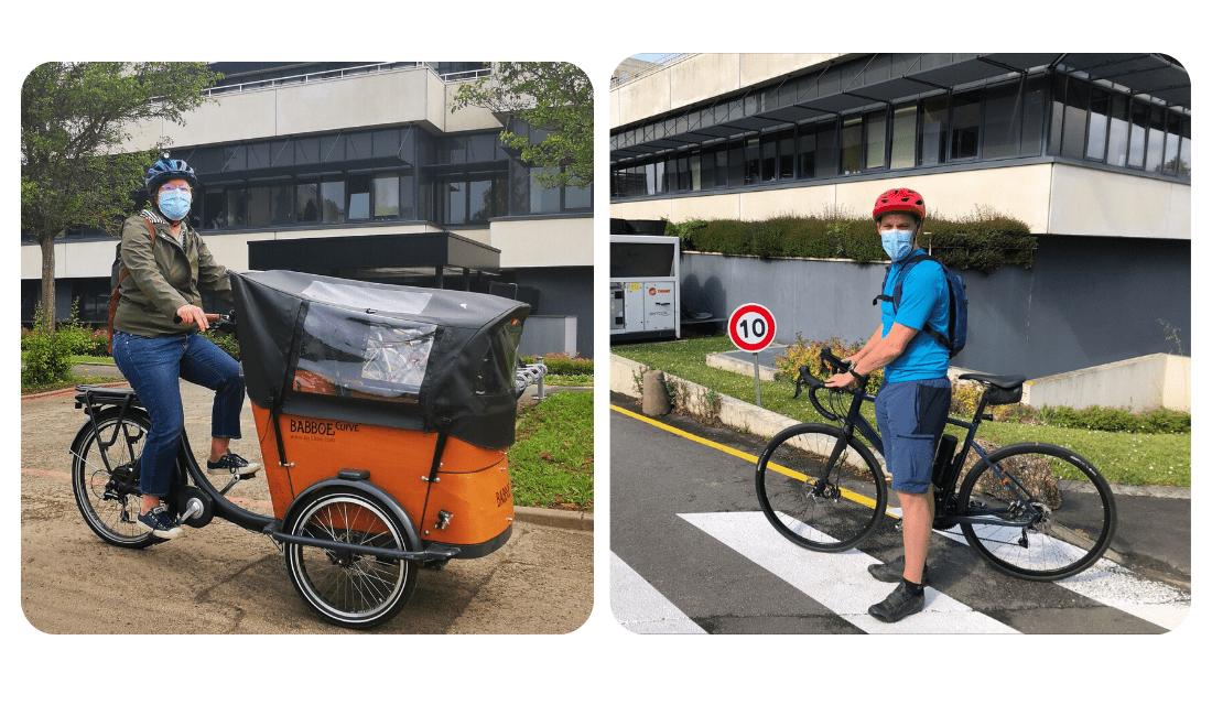 Plus 25 % de vélotaffeurs au Centre François Baclesse depuis la pandémie