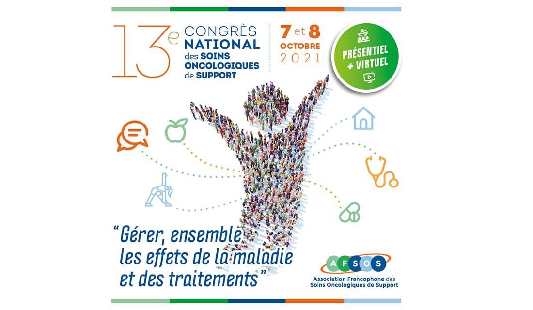 Visuel de l'affiche du 13e Congrès AFSOS 2021