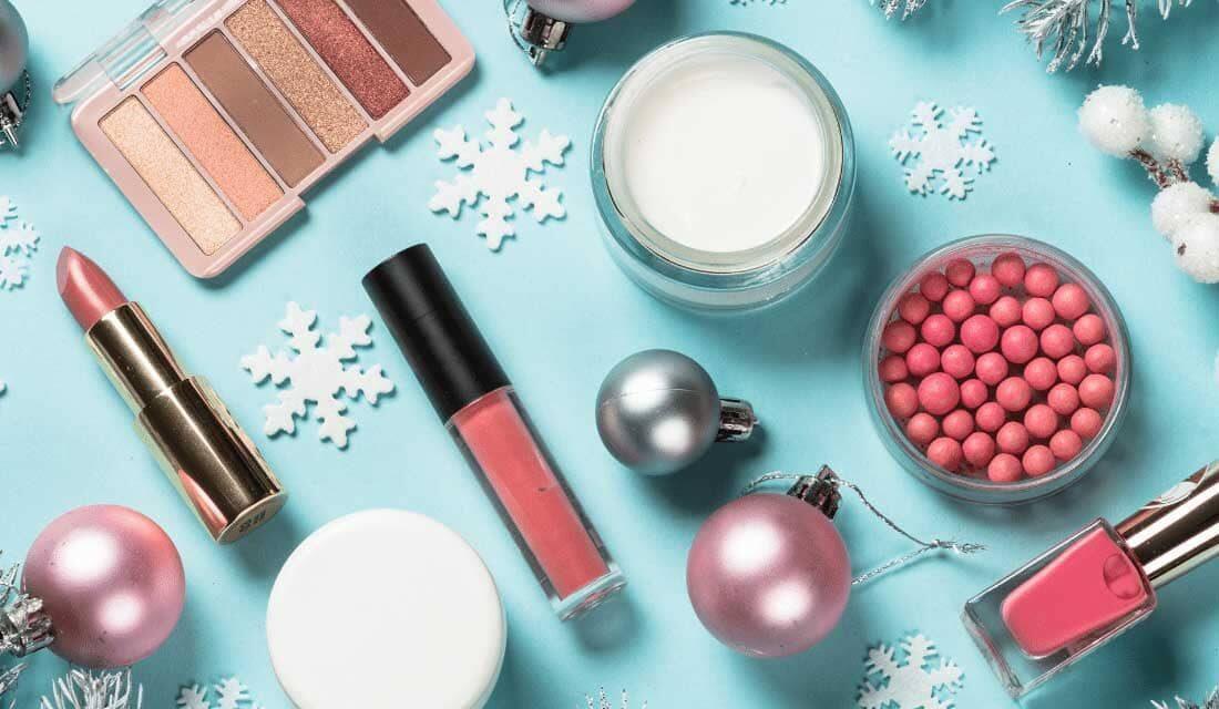 palette de maquillage de fêtes