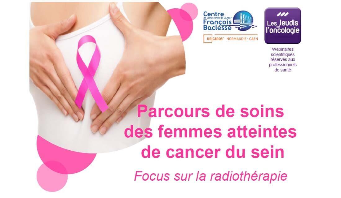 Jeudi de l'oncologie : cancer du sein